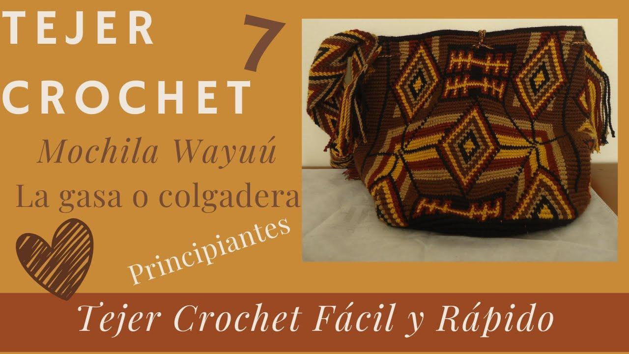 Como tejer una mochila wayúu paso a paso.(7) Acabados. - YouTube