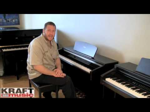 kraft music yamaha arius ydp 223 digital piano demo youtube. Black Bedroom Furniture Sets. Home Design Ideas