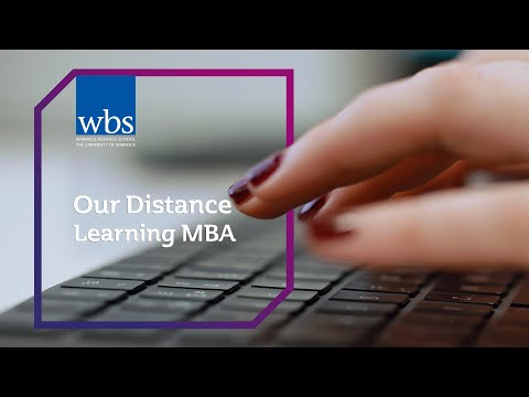 Our Distance Learning MBA