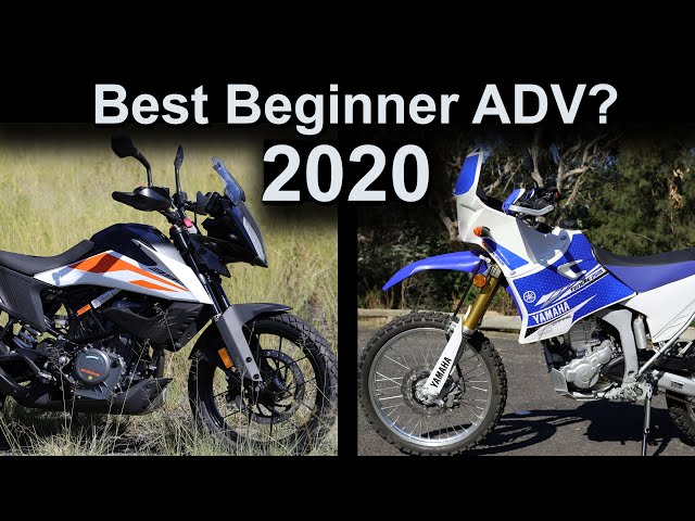 Best Beginner Adventure Motorcycle 2020?