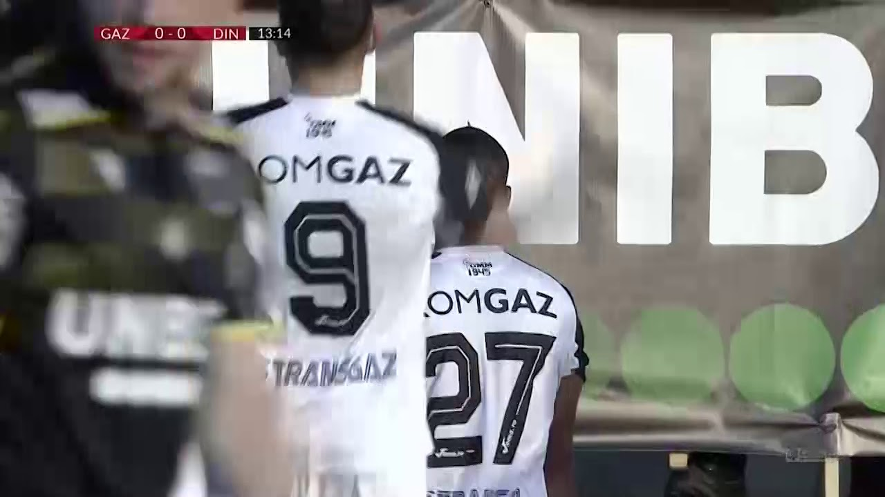 Газ Метан  1-0  Динамо Бухарест видео