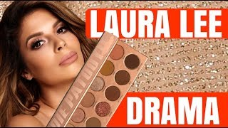 BAD NEWS FOR LAURA LEE NEW MAKEUP PALETTE