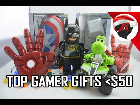 Top Holiday Gamer Gifts Less than $50 (2015 Gift Guide)