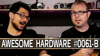 Awesome Hardware #0061-B: Radeon Pro Duo Launches, HTC Vive Unboxing, Chinese Security Robots