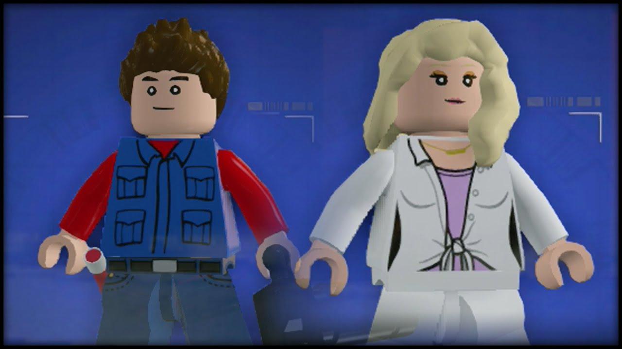 Lego Jurassic World Custom Characters Youtube