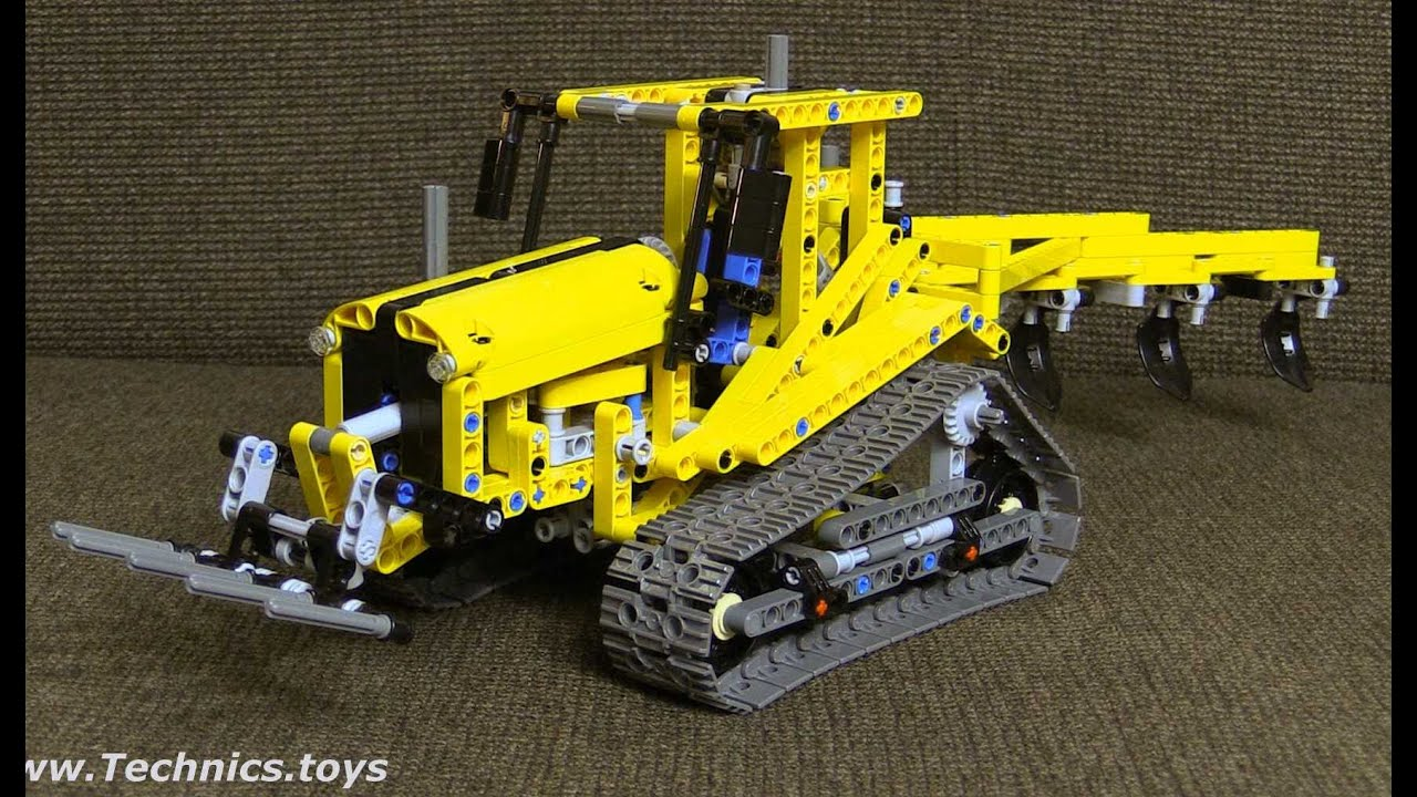 lego technic 42006 tracked tractor instructions