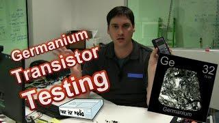 Germanium Transistor Testing