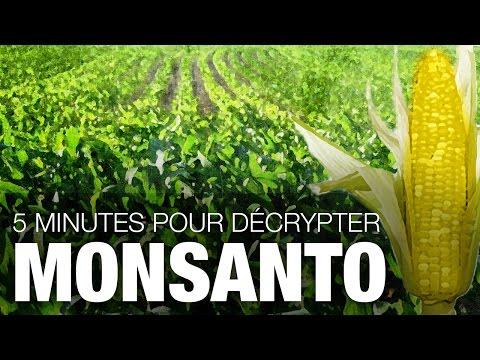 5 minutes pour décrypter Monsanto
