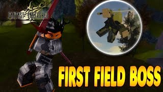 FIGHTING THE FIRST OPEN WORLD FIELD BOSS! | Fantasy Unleashed in Roblox | iBeMaine