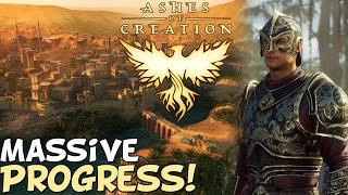 "Ashes Of Creation 2021 Update ""Massive Progress!"""
