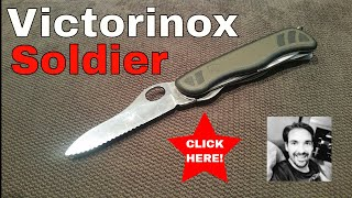 Victorinox Swiss Soldier's knife Swiss Army knife review!