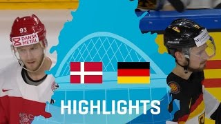 Denmark - Germany | Highlights | #IIHFWorlds 2017