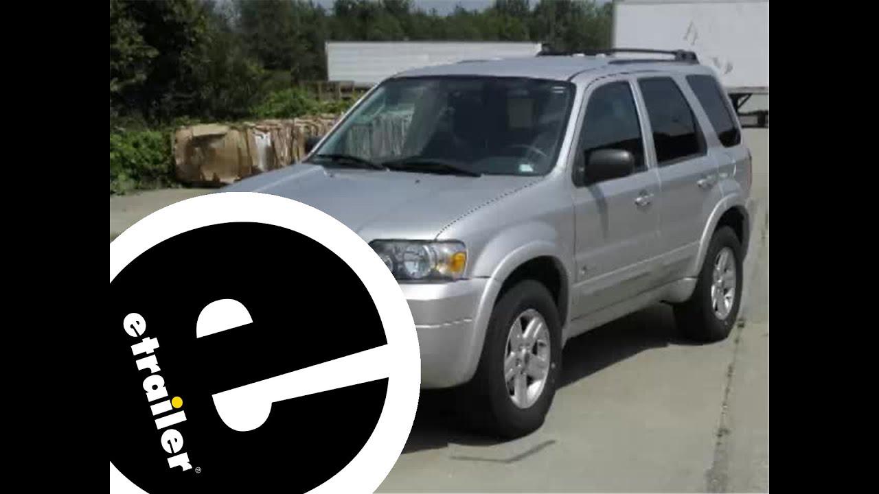Trailer hitch installation 2006 ford escape hybrid etrailer com