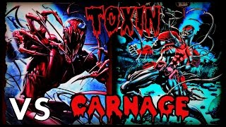 TOXIN VS. CARNAGE (CARNAGE VOL. 1) │ Comic History