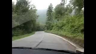 Discesa in auto da Prato Nevoso (CN)