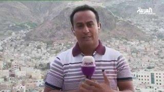 شاهد قلعة المصريين التي قصف منها الانقلابيون أهالي #تعز