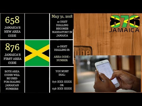 NEW AREA CODE FOR JAMAICA WHAT YOU NEED TO KNOW   #JVLOGS