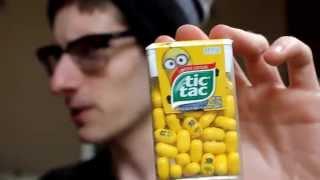 Minion Tic Tacs Review