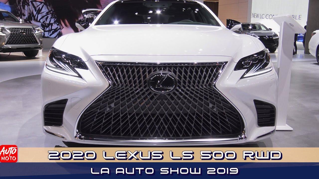 2020 Lexus Ls 500 Rwd Exterior And Interior La Auto Show 2019