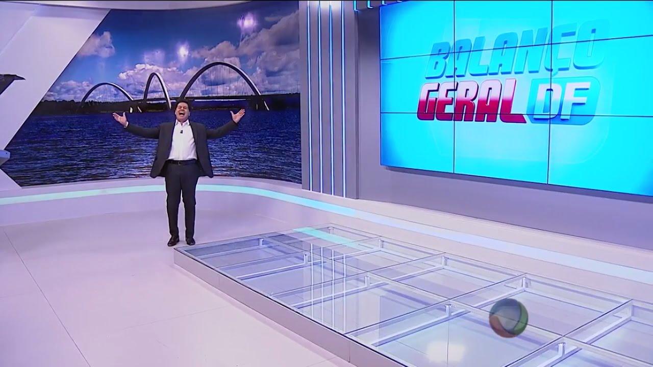 Novo cenário do Balanço Geral DF com Marcão (24/10/2016)