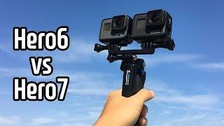[GoPro Tip] 고프로 히어로6 vs 히어로7 솔…