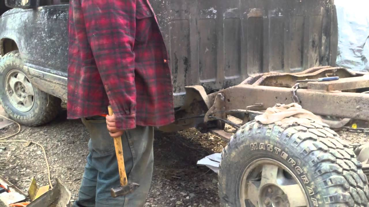 Gmc 2500 Frame Repair Youtube