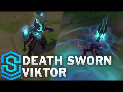 Death Sworn Viktor Skin Spotlight - Pre-Release - League of Legends