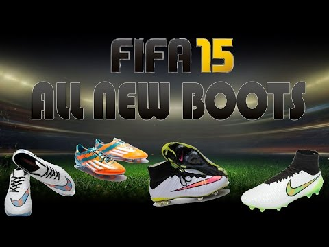 FIFA 15 ALL NEW BOOTS + UPDATE