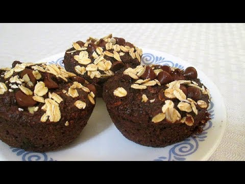 How To Make Healthy Chocolate Oatmeal Muffins