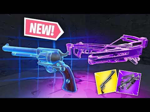 *NEW* CROSSBOW & SIX SHOOTER IS INSANE! | Fortnite Funny Fails & WTF Moments #71 (Battle Royale) thumbnail