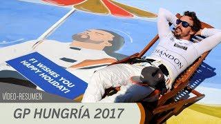 Resumen del GP de Hungría - F1 2017
