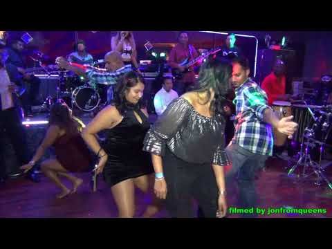 Dance competition (with tassa) at Jingle Bellz Ball 2017