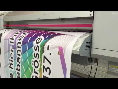 Large Format Digital Printing Switzerland  I  PVC Printed Banners Zurich