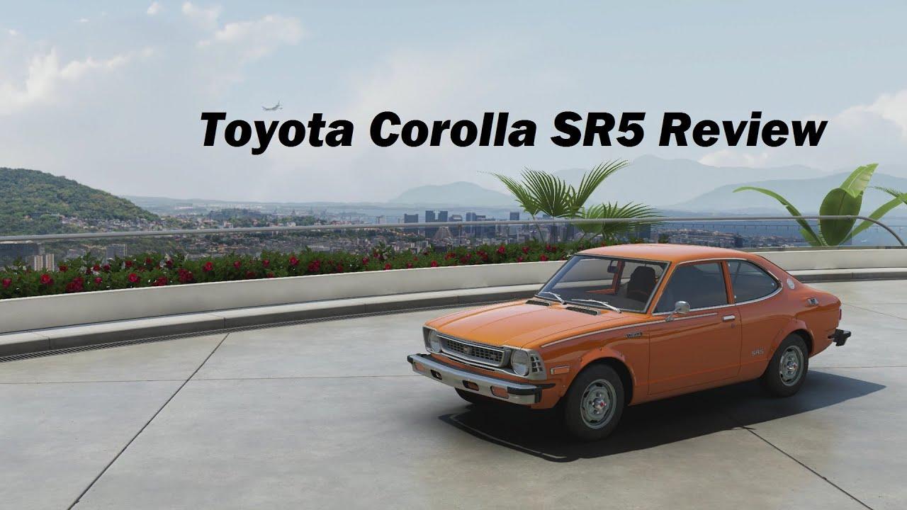 1974 toyota corolla sr5 review forza motorsport 6 youtube. Black Bedroom Furniture Sets. Home Design Ideas