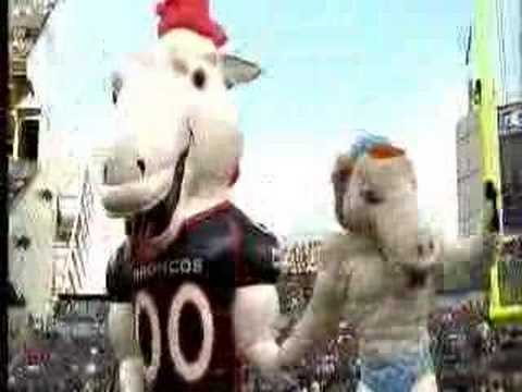 Olympics Broncos mascot