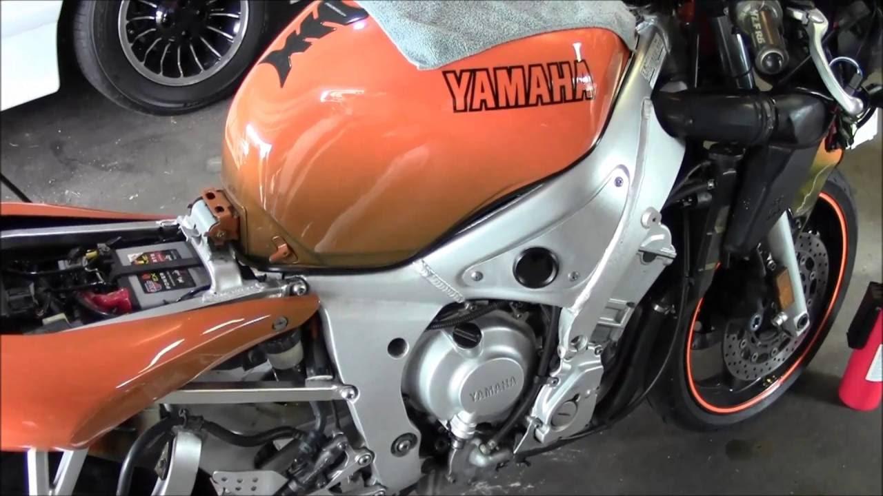 2000 Yamaha YZF R6 Pilot Jet Adjustment