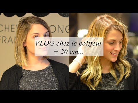 vlog chez le coiffeur extensions clips 20 cm de cheveux youtube. Black Bedroom Furniture Sets. Home Design Ideas