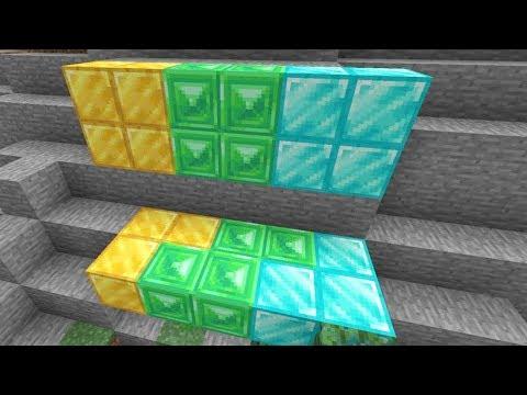 Minecraft 1.14 News: Emerald, Gold & Diamond Textures Changed Again!