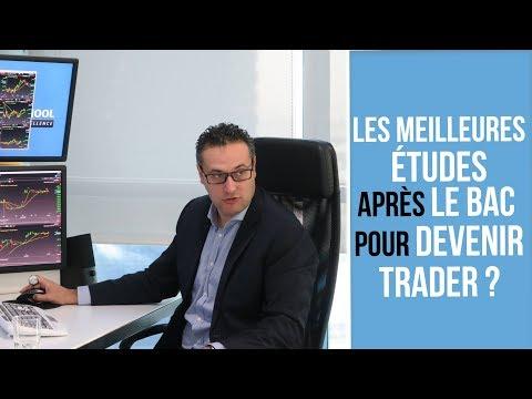 Les meilleures études après le BAC pour devenir Trader ?