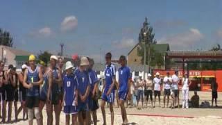 Пляжный гандбол/Геническ 2009