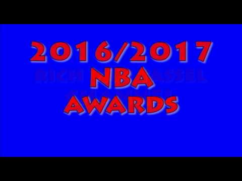 2016/2017 NBA Awards