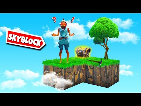 Minecraft *SKYBLOCK* w Fortnite!
