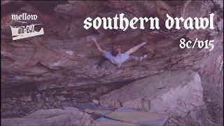 Uncut: Nicholas Milburn climbs Southern Drawl (Font 8C)