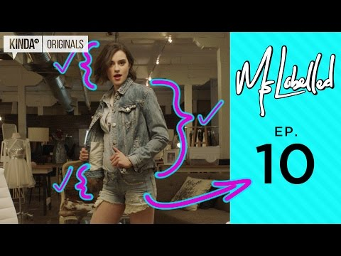 MsLabelled | Episode 10 | How To Create DIY Denim, Pearls, and Creepo Mac Daddies