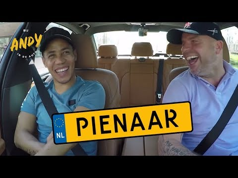 Steven Pienaar - Bij Andy in de auto