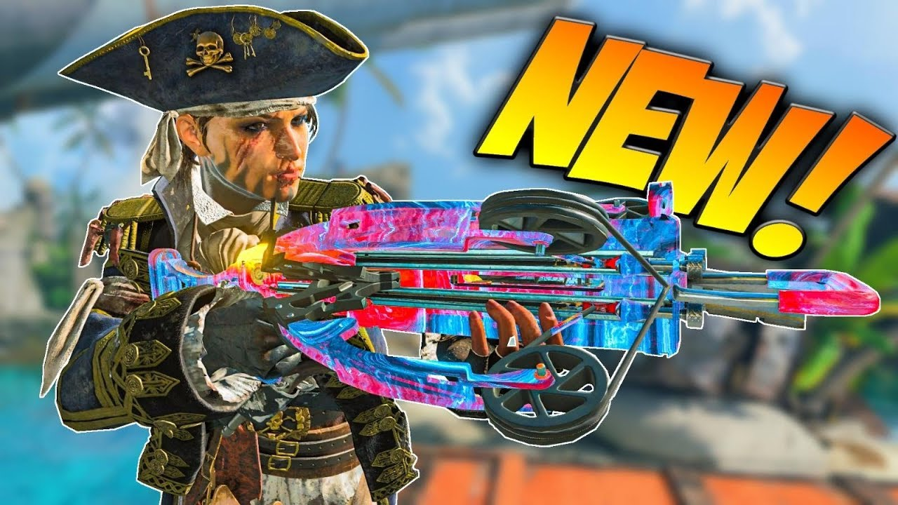 THE NEW REAVER C86 CROSSBOW! (Black Ops 4 DLC Weapon)