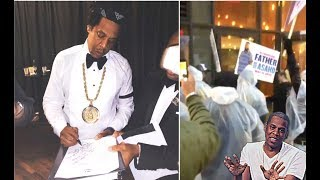 DJ Khaled Fans Protest Jay Z Show + NBA Youngboy Walks The Red Carpet + Blac Youngsta Hoops in Gucci