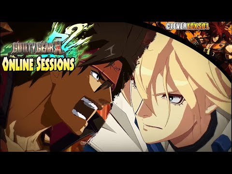 Guilty Gear Xrd Rev 2 - Online Sessions (PS4) | Waiting for DBFZ