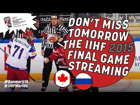Historic #IIHFWorlds Finals 2015 Teaser - #IIHFWorlds 2018 - 동영상