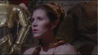 """Return of the Jedi"" Slave Leia Scene - Special Edition"